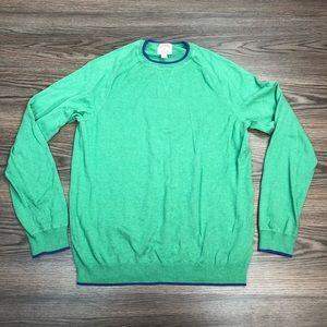 Brooks Brothers Seafoam Green Crewneck Sweater XL